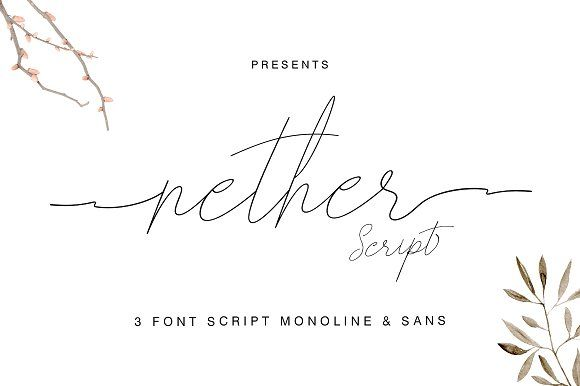 nether by Earning.Type co on @creativemarket [affiliate]