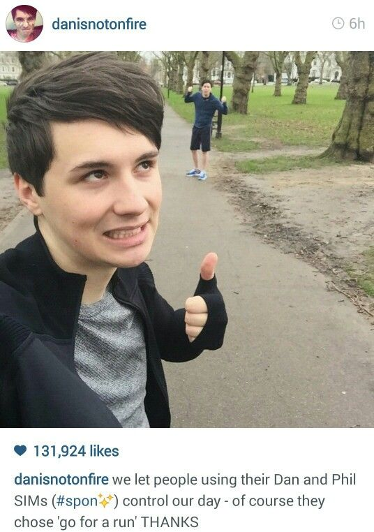 Wooo go Dan and Phil!