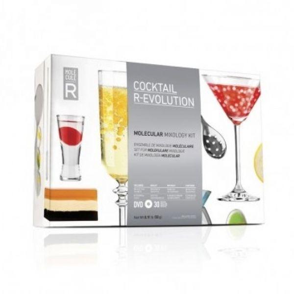 V této sadě najdete vše potřebné k jednoduché domácí výrobě exluzivních alkoholických i nealkoholických koktejlů.