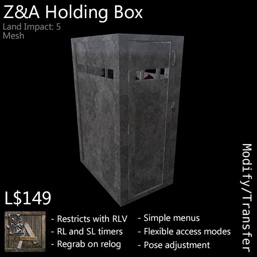 Z&A Holding Box (Steel)