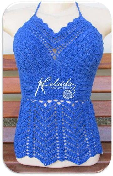 Blusa azul 1