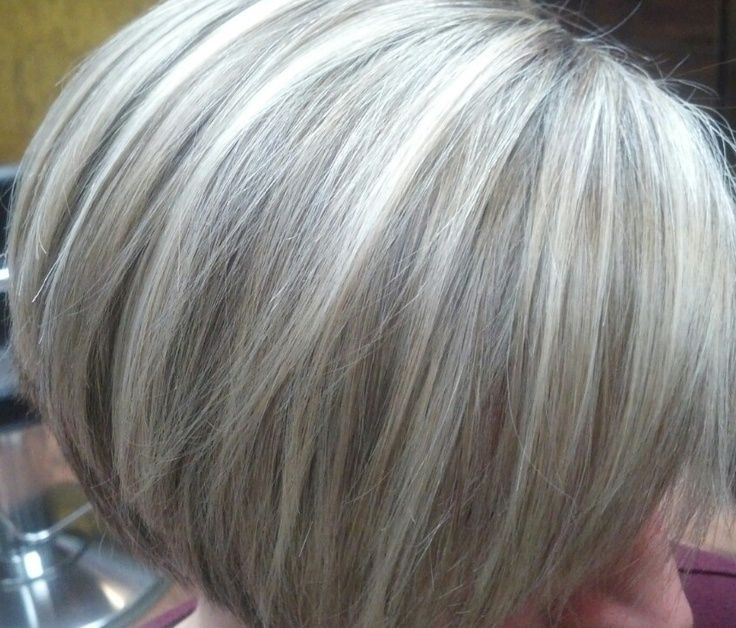 Pix For Gray Hair Highlights Lowlights Hair Pinterest Gray