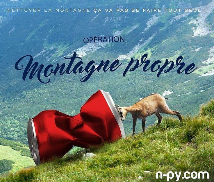 """Journée """"Montagne Propre"""" le 18 juin dans toutes les stations sauf Cauterets le 09 juillet ! Inscrivez-vous vite sur notre site www.n-py.com ! #montagne #pyrenees #piauengaly #peyragudes #grandtourmalet #luzardiden #cauterets #gourette #lapierresaintmartin #npy by npyski"""