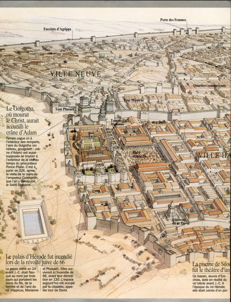 Jerusalem of Herod the Great  (37 BC) J.C. Golvin