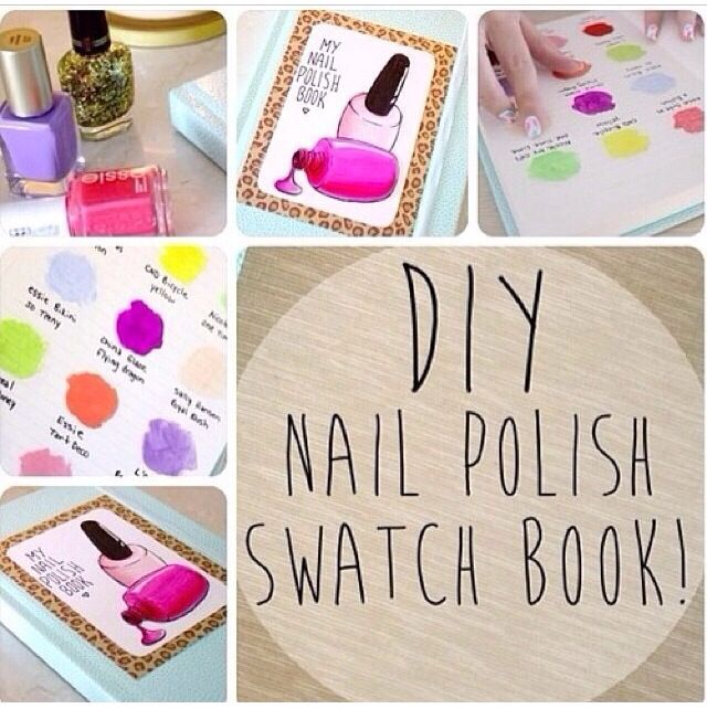Nail Polish Swatch Book