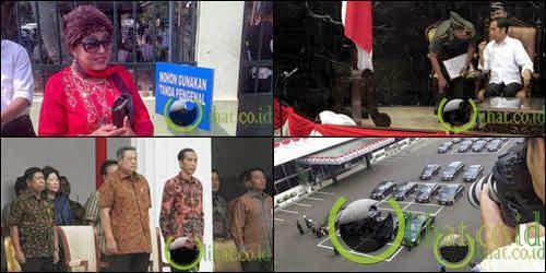 6 Hal Unik saat Pelantikan Jokowi dan Jusuf Kalla