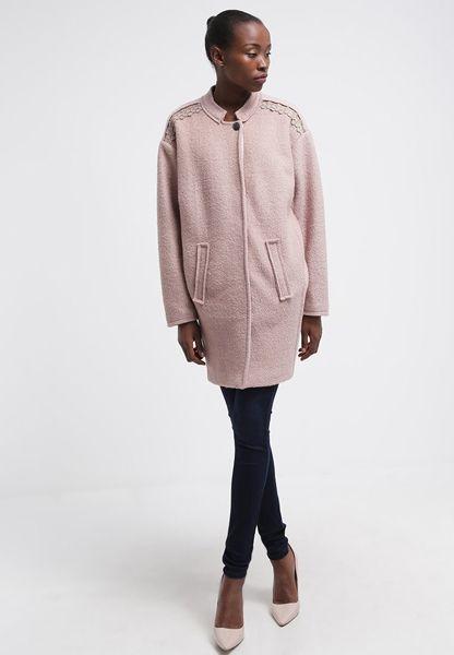 Winterjacken 2015: Mantel in Rosa