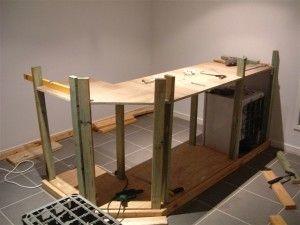 1000 id es sur le th me construire un bar sur pinterest - Plan pour construire un bar en bois ...
