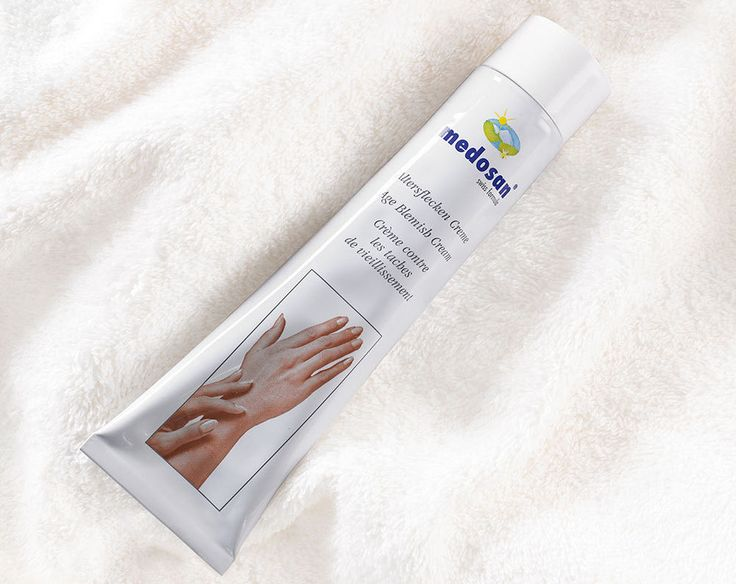 medosan anti ageing skin blemish age discolouration liver spots smoothing cream
