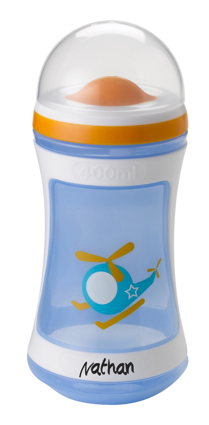 Tommee Tippee® discovera® Two-Stage Drinker 24m+ #sippycup #tommeetippeeau #discovera #cutecup #nathan #blue #toddler #helicopter #boys