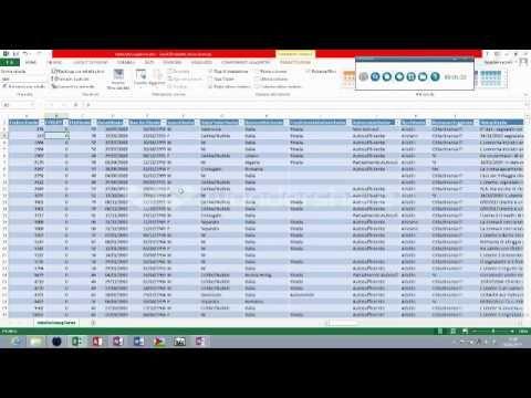 tabella Pivot Excel 1°Lezione  Intro