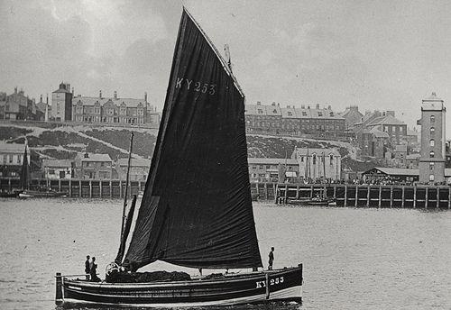 Herring Boat, North Shields, c.1898