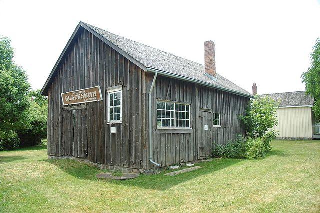 The Blacksmith Shop at the Markham Museum.