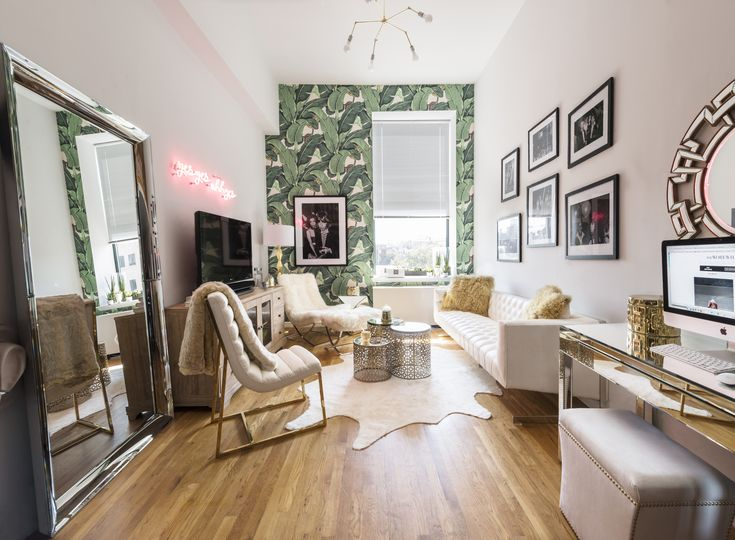 Founder U0026 Blogger Of WeWoreWhat | Living In NYC | Freelance Writer | Vintage,  Leather. Nyc Studio ApartmentsArchitecture InteriorsHome InteriorsSmall ...