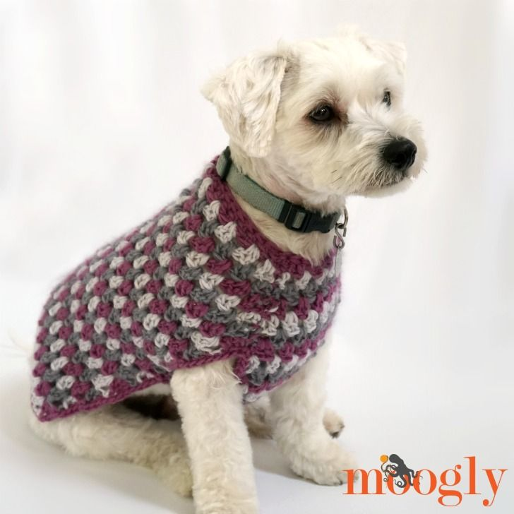 The Well Dressed Dog Coat is ready to perk up your pet with gorgeous colors – and a stitch pattern that's both familiar and fun! And there's a matching cowl too! Disclaimer: This post includes affiliate links; yarn provided by Lion Brand. The Well Dressed Dog Coat is made with Lion Brand New Basic 175. [...]
