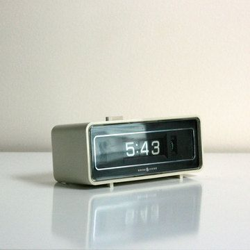 flip number alarm clock by general electric clocks pinterest clock electric and products. Black Bedroom Furniture Sets. Home Design Ideas