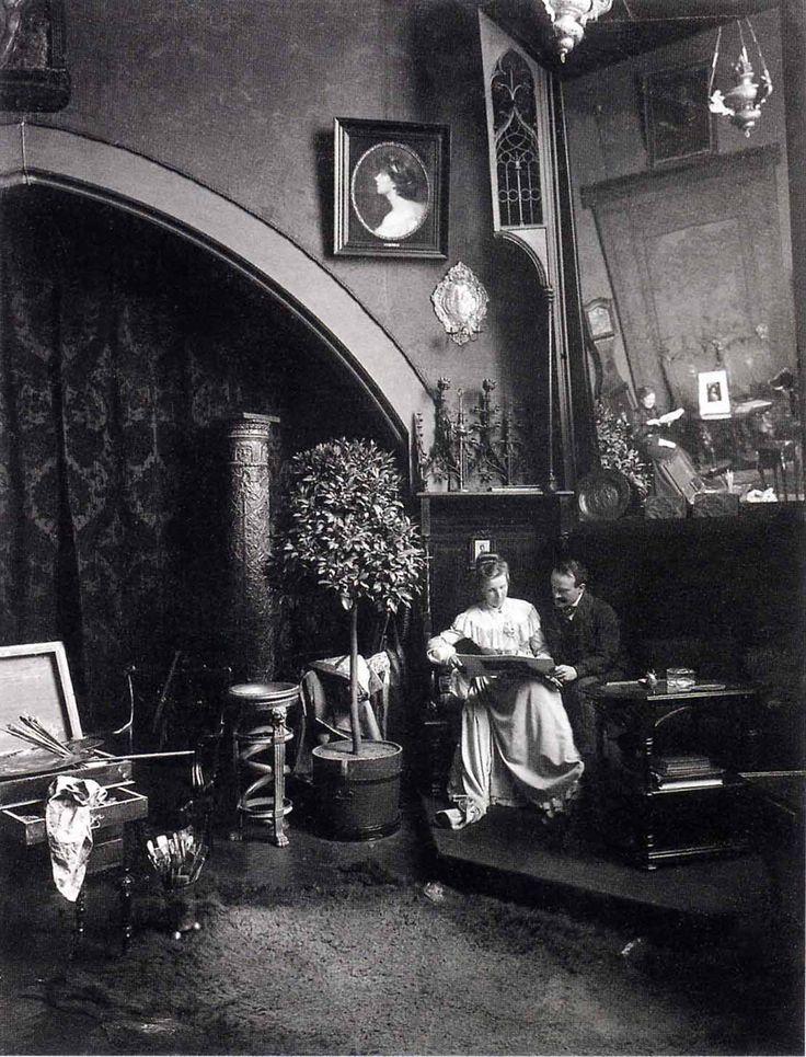 Philip de László & wife 1903