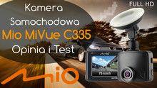 Mio MiVue C335 – kamera samochodowa (wideorejestrator) – Opinia i Test