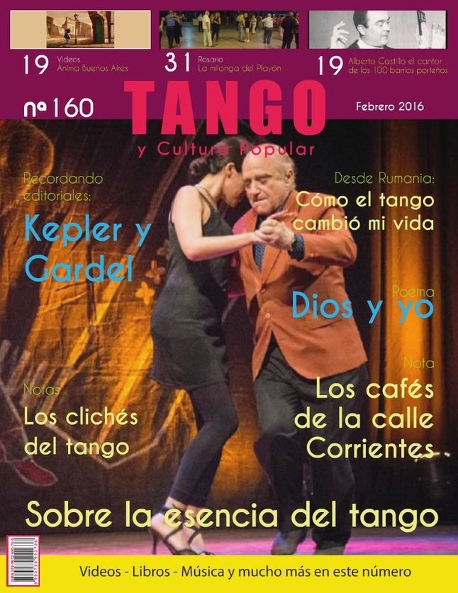 Tango y Cultura Popular N° 160