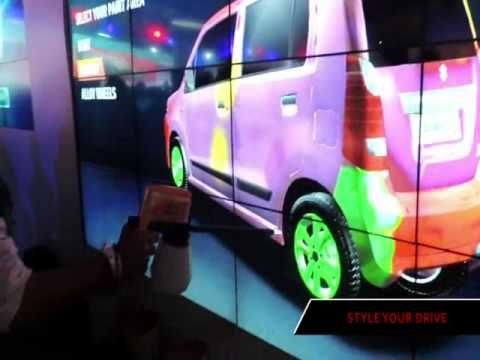 "Maruti Suzuki prepared a special interactive experience ""Style Your Drive"" for…"