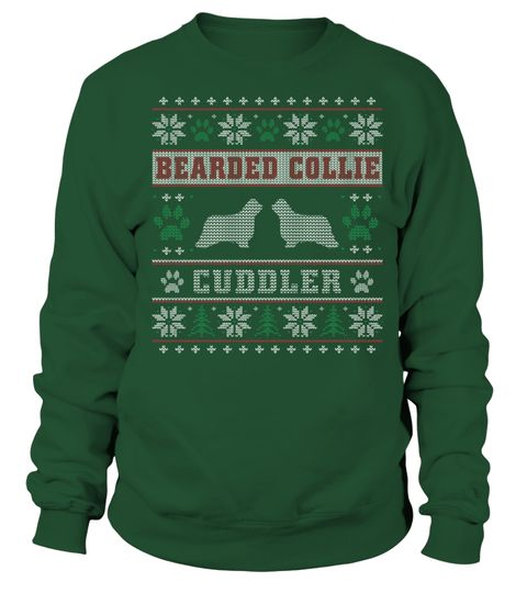Bearded Collie Cuddler Christmas Funny Sweatshirt Gifts T-shirt  #tshirt #tshirtfashion #tshirtformen #Women'sFashion #TshirtWomen's #Fundraise #PeaceforParis #HumanRights #AnimalRescue #Autism #Cancer   #WorldPeace #Disability #ForaCause #Other #Family #Girlfriend #Grandparents #Wife #Mother #Ki