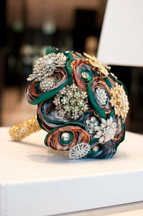 Wedding Flower Bouquet Jewelry