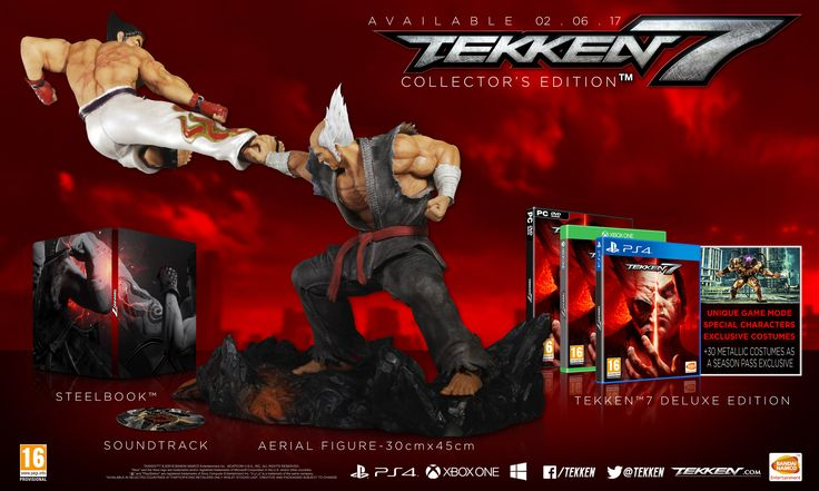TEKKEN 7 release date confirmed! Hold tight for TEKKEN 7 is coming and Bandai Namco have confirmed the release date! http://www.thexboxhub.com/tekken-7-release-date-confirmed/