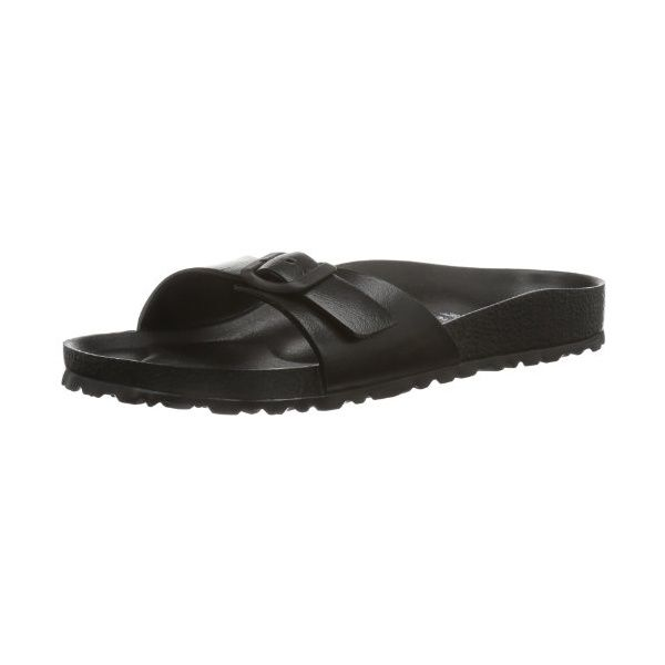 BIRKENSTOCK Unisex-Erwachsene Clogs & Pantoletten, Schwarz - Black Oiled Leather - Größe: 38 EU N