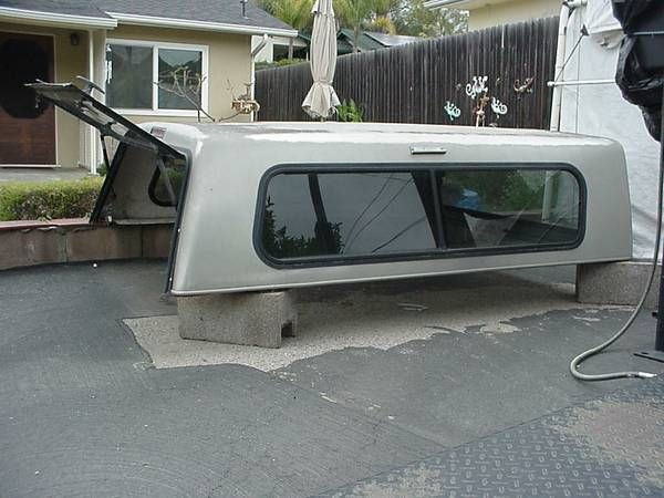 Vista Camper Shell GMC Chevrolet 80″ – auto parts – by owner