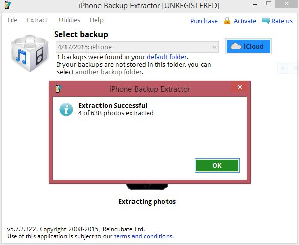 How to recover photos or videos from an iPhone backup  (Extraction - iTunes Backup)