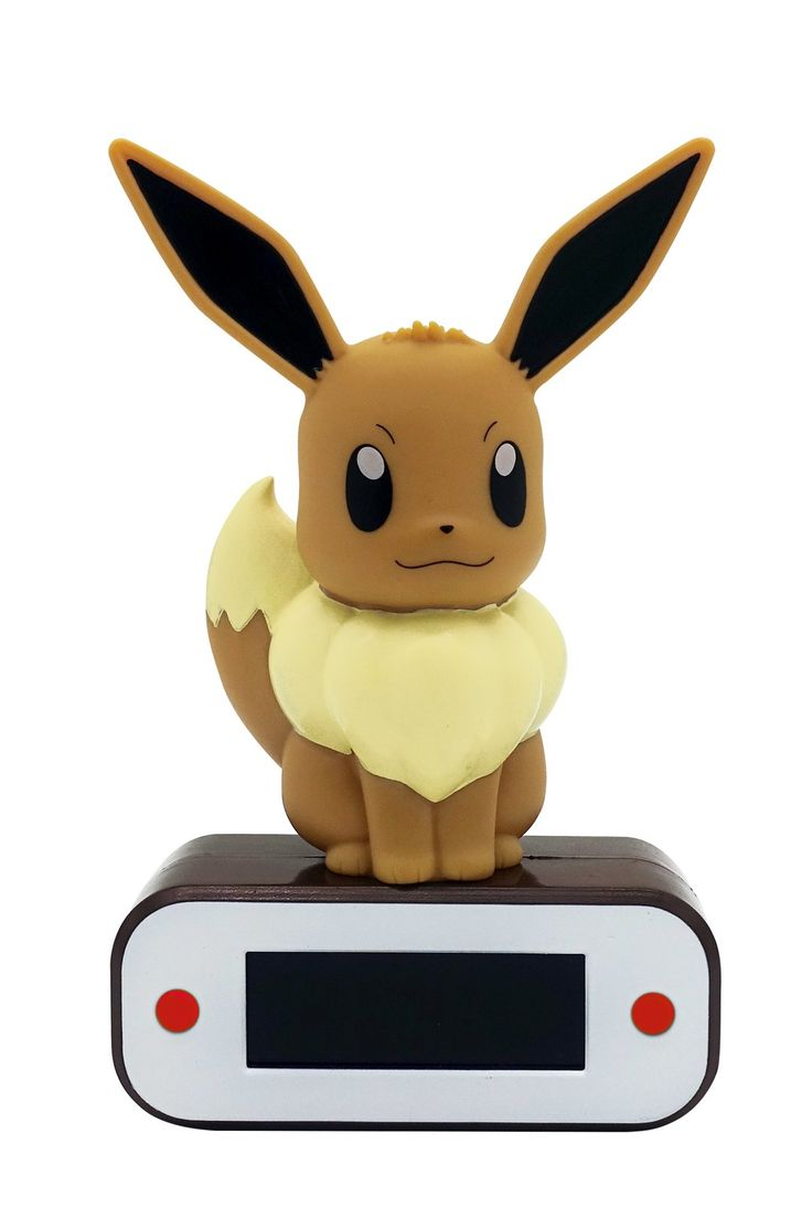 Lampe Et Reveil Pokemon Evoli Pokemon Evoli Evoli Et Reveil Lumineux