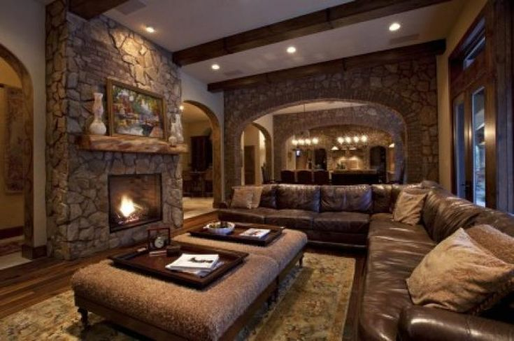 120+ Stunning Rustic Living Room Design Ideas - Page 70 of 81
