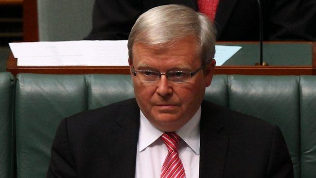 "Kevin Rudd: ""Not a Happy Little Vegemite."""