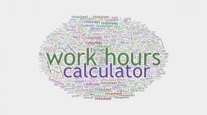 Work Hours Calculator http://www.howmuchdoi.com/time/Work-Hours-Calculator-306.html