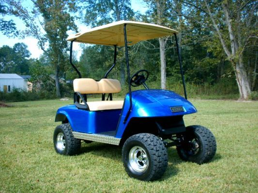 Custom Lifted Golf Carts, Lifted