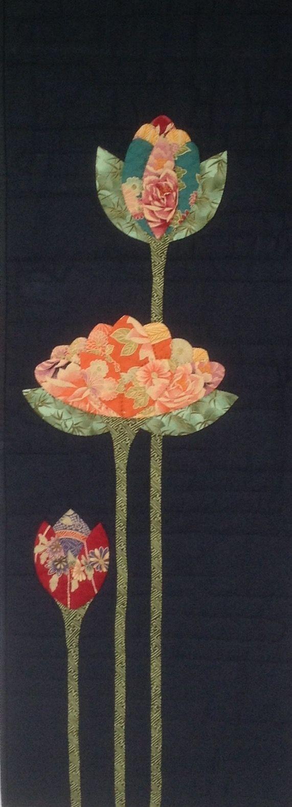 PP Blog: Lotus Flower Quilt