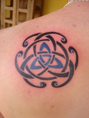 Triqueta Celta : Tattoo do Greg, membro da equipe Paraiso Perdido! | dragonflytattoo