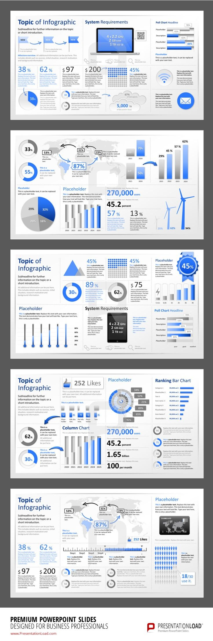 Infographic PowerPoint Templates  #presentationload  www.presentationl...