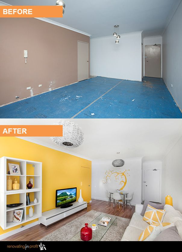 #beforeandafter #renovation See more exciting projects at: www.renovatingforprofit.com.au