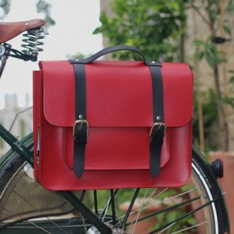 We are in LOVE with the Hill & Ellis Bertie Cycling Pannier £190