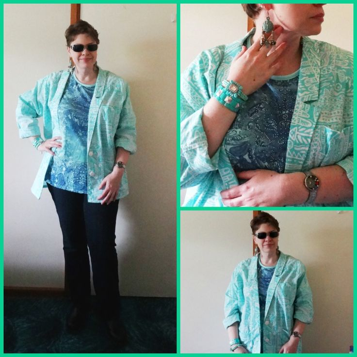JDS - MY STYLE - Hospital Style - Millers top, retro jacket. For more details - http://jeweldivasstyle.com/my-style-august-style/
