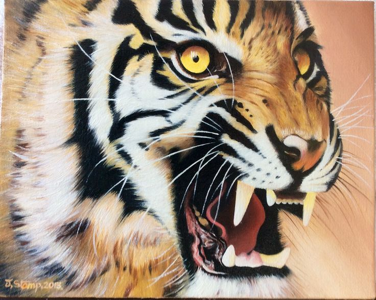 Wild & beautiful .oils on canvas.