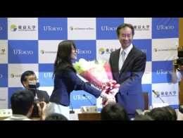 Prix Nobel de Physique: la joie du Japonais Takaaki Kajita