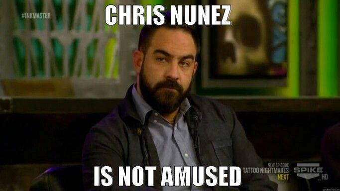 Chris Nunez. Ink master