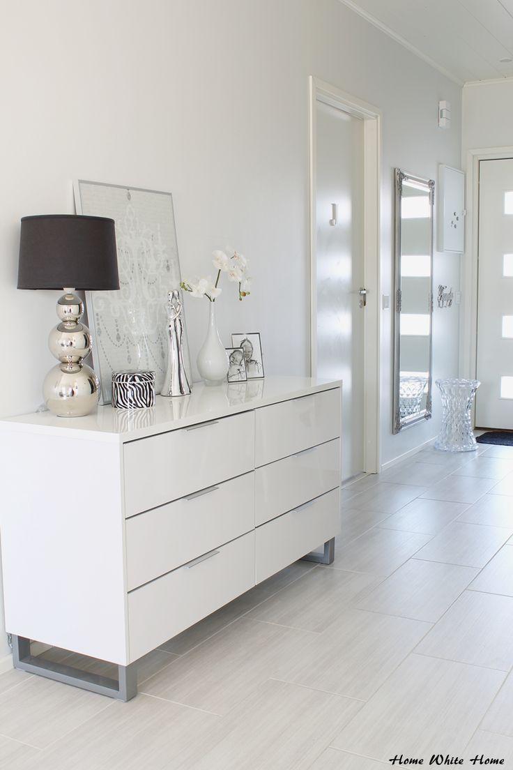 White hallway - Home White Home -blog
