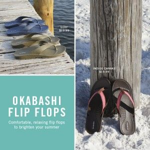 American Made Flip Flops From Okabashi via USALoveList.com