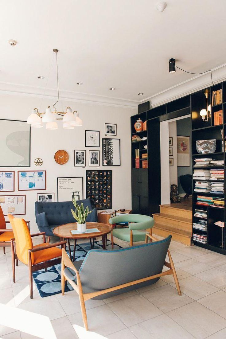 A Mix Of Mid Century Modern Bohemian And Industrial Interior Style Home And Apartment Decor Decor Deco Maison Amenagement Interieur Decoration Interieure