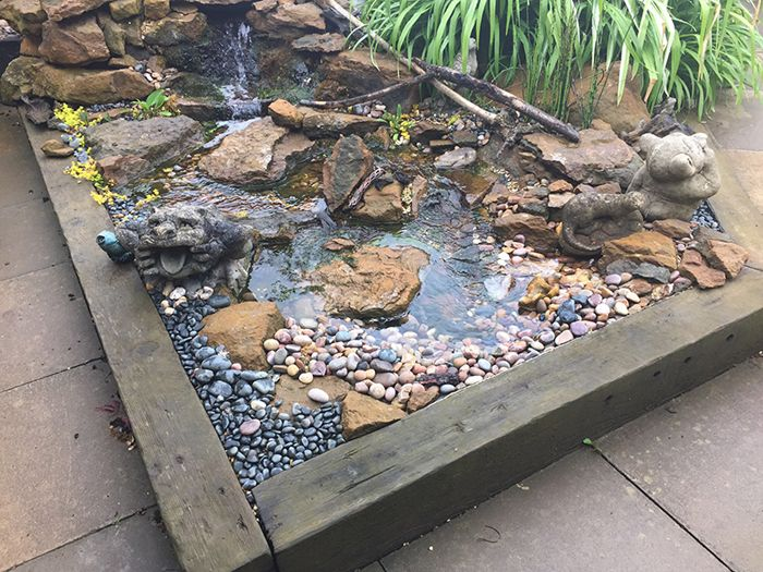 17 best images about zahrada garden on pinterest gardens for Building a small water feature