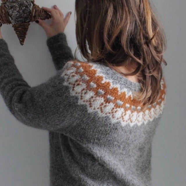 Strokkur pattern by Ysolda Teague #lopapeysa #knittersofinstagram  #ravelry #ysolda
