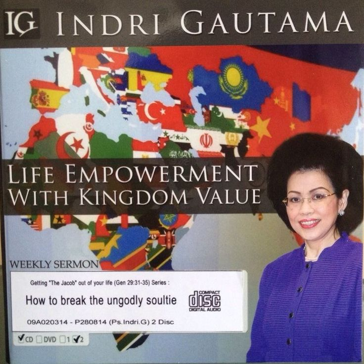 [Audio CD] Getting the Jacob out of Your Life (Gen 29:31-35) Series: How to Break the Ungodly Soultie  #IndriGautama #Christian #Soultie